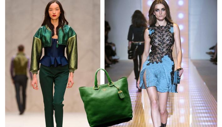 Emerald und Dusk Blue: heiße Frühjahr-Sommer-Trends