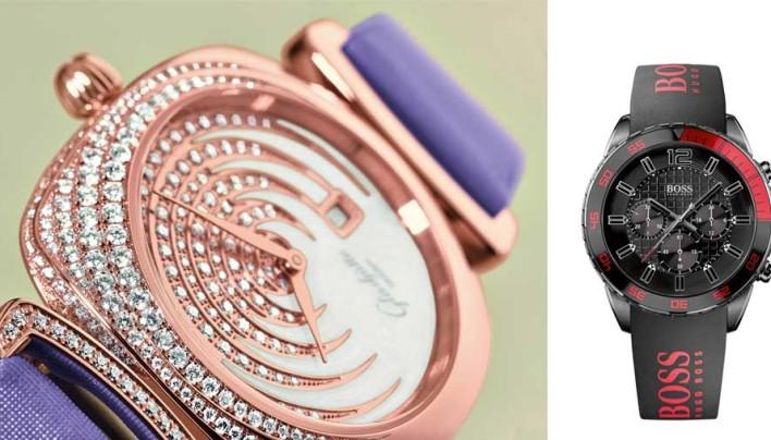 Uhren: neue Designs und brillante Extras
