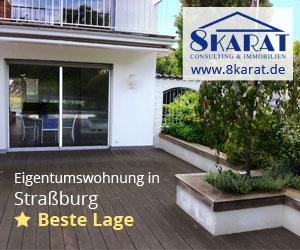 Anzeige - Eigentumswohnung in Straßburg – Beste Lage