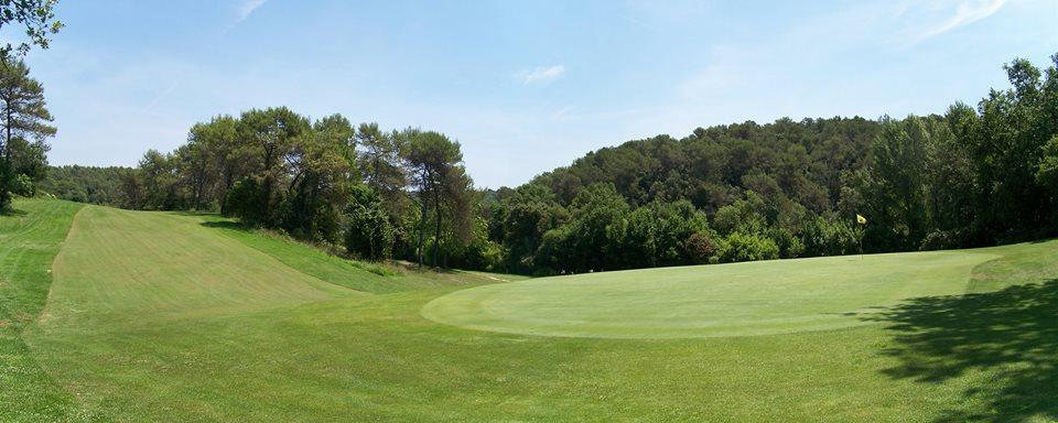 Golfplatz an der Côte d'Azur