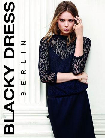 Werbebanner Blacky Dress