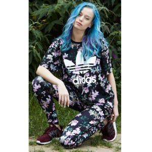 "Kollektion ""Orchid"" von adidas, Outfit um 155,- €. Foto: adidas"